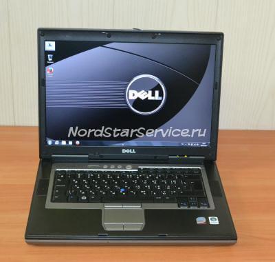 Ноутбук Dell D830 Intel внешний вид