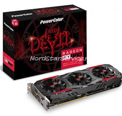 видеокарта Radeon RX570 4GB Red Devil